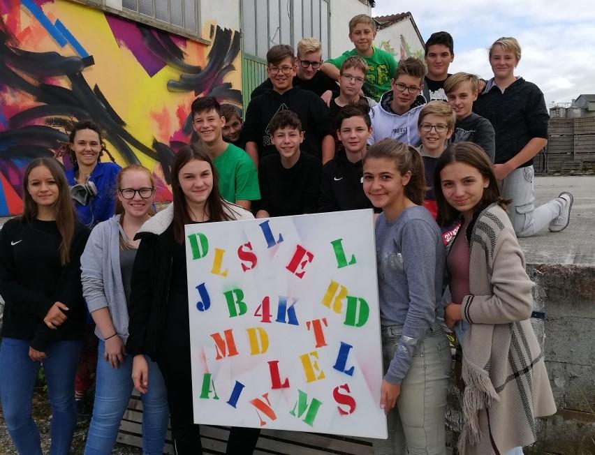 4K bei Graffiti-Künstlerin SIUZ - Copyright SMS Gars
